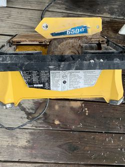 QEP 650XT Wet Tile Saw for Sale in Jersey City,  NJ