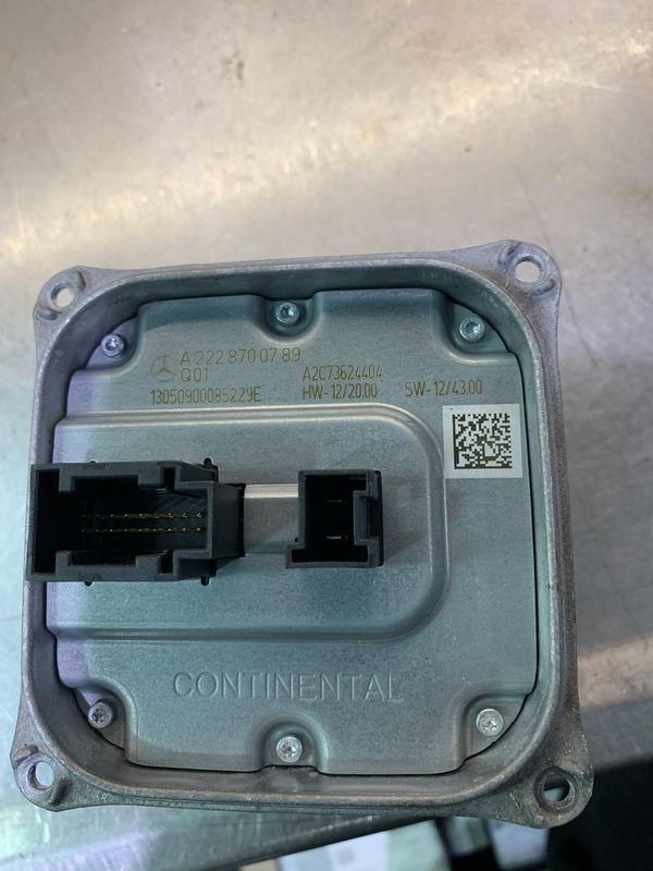 Headlamp low beam control module Mercedes Benz.