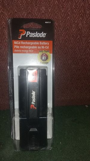 PASLODE NiCd RECHARGEABLE BATTERY!!!! BRAND NEW!!! for Sale in Winston-Salem, NC