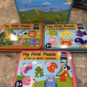 puzzles sets for kids brand new for Sale in Fort Worth, TX