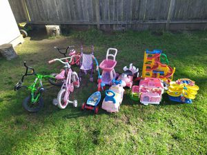 Kids toys, everything for $20 for Sale in Lacey, WA