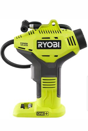 Ryobi One+ 18V Power Inflator for Sale in Tolleson, AZ