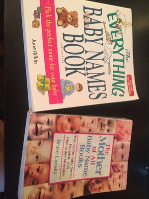 Two baby name books for Sale in Falls Church, VA