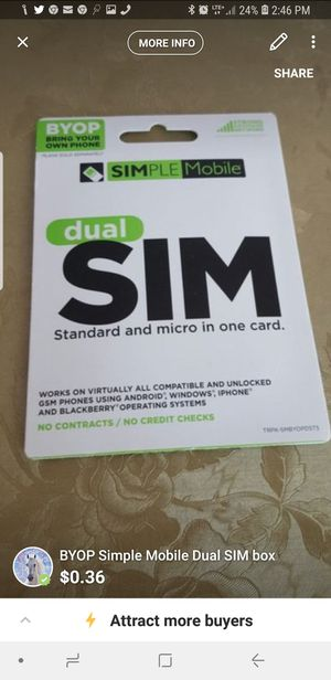 Sim card for Sale in Clearwater, FL