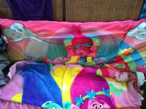 Trolls pillow and blanket clean for Sale in Saint Pete Beach, FL