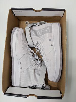 Nike SF AF1 Mid Suede Vast Grey Shoes Men Size 9.5 for Sale in Reston, VA