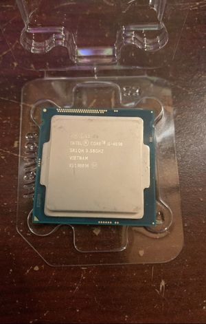 Intel Cpu i5 4690 3.5ghz Socket 1150. for Sale in Doral, FL