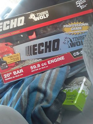 """Echo 20"""" chainsaw for Sale in Pawtucket, RI"""