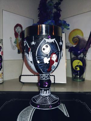 Nightmare Before Christmas Goblet for Sale in Phoenix, AZ