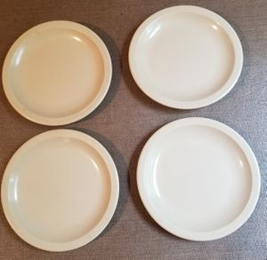 Set 4 Dallas Wear cream color bread & butter plates for Sale in Three Rivers, MI