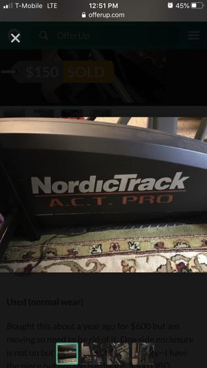NordicTrack Elliptical for Sale in Tamarac, FL