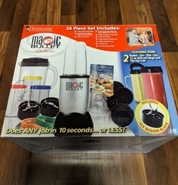 Used Magic Bullet deluxe 26 piece set for Sale in Portland,  OR