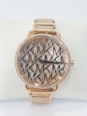 Black Friday Special 35%Off Real Stainless Steel Rose Gold MK Face Michael Kors Watch MK3887 for Sale in Richmond, TX