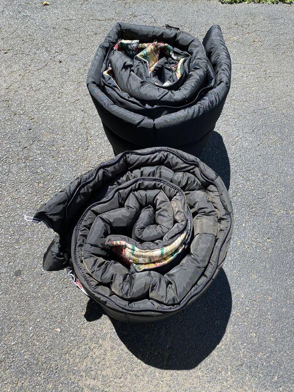 Pair of Ed Hillary sleeping bags