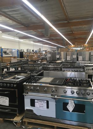 Warehouse full of discounted Viking Dcs fisher & Paykel Thor Bertazzoni Ge kitchenaid appliance for Sale in Los Angeles, CA