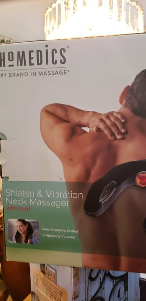 Ho Medics Shiatsu and Vibration Neck Massager with Heat for Sale in Chantilly, VA