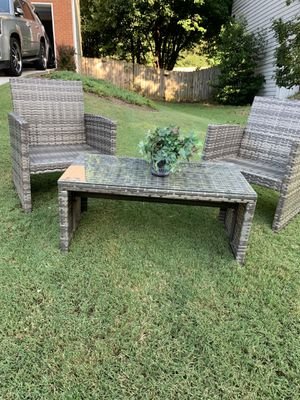 3 piece patio set for Sale in Lawrenceville, GA