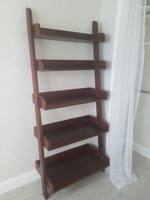 Leaning Tower of Shelves/ Ladder Shelf for Sale in Fort Lauderdale, FL