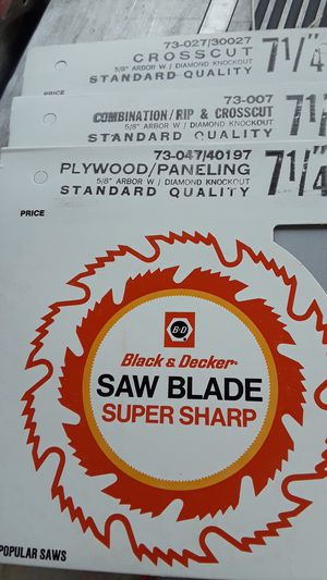 Saw blade for Sale in Durham, NC