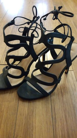 Black stilletto heels size 8 for Sale in Columbus, OH