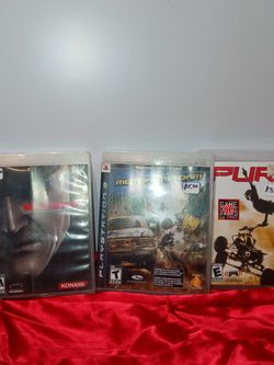 5$ PlayStation 3 Video Games for Sale in Sanger,  CA