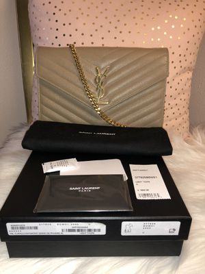 Ysl Wallet with Chain for Sale in Detroit, MI