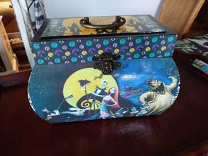 Nightmare Before Christmas box with handle for Sale in Lillington, NC