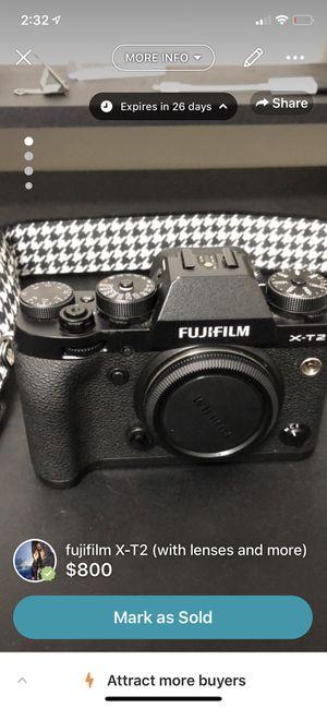 Fujifilm x-t2 for Sale in Durham, NC