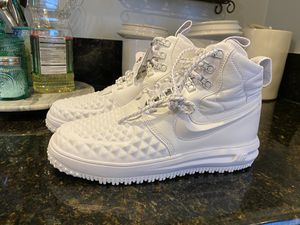 Nike Lunar Force 1 Duckboot Winter White ((((only size 8 available ))) for Sale in Whittier, CA