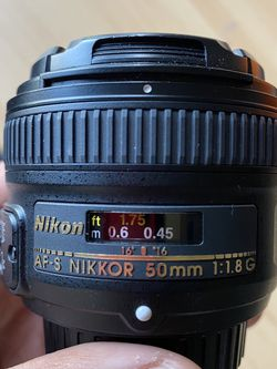 Nikon Lense 50mm for Sale in Los Angeles,  CA