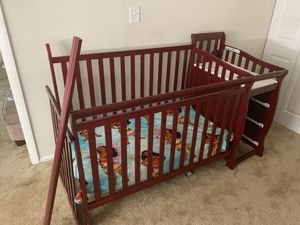 5-in1 Convertible Baby Crib NEED GONE for Sale in Virginia Beach, VA