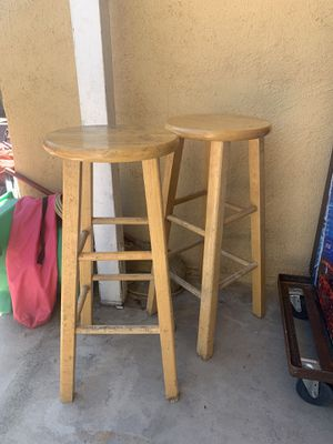 Wooden stools for Sale in Compton, CA