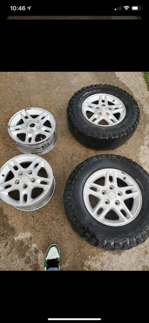"""Jeep Grand Cherokee 16"""" wheels 5x127mm for Sale in Houston, TX"""