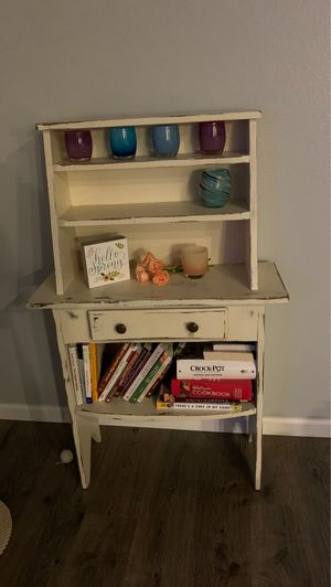 Shabby chic bookcase for Sale in Mill Creek, WA