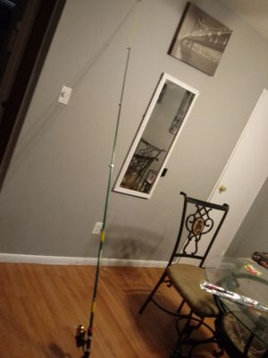 Good quality fishing rod and reel for Sale in Philadelphia, PA