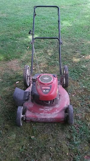 Craftsman 6hp lawn mower for Sale in Bristol, RI