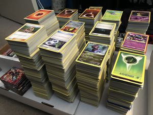 1,500 Pokémon Card Collection for Sale in Bolingbrook, IL