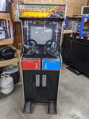"""American Speedway Arcade Game Machine *For Parts"""" for Sale in Enumclaw, WA"""