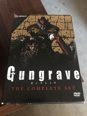 Gungrave - The Complete Series (DVD, 2009, 7-Disc Set, Thinpak) for Sale in Murrieta, CA
