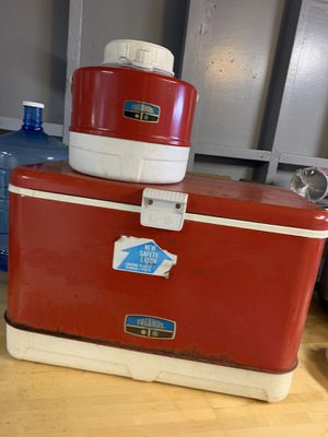 Antique thermos and cooler for Sale in San Leandro, CA