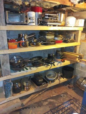 Pots n Pans n more cooking supplies. $10 ea packages available. 300 other items. look under sellers other items for Sale in Atlanta, GA