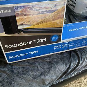 Samsung Soundbar T50M for Sale in Lathrop, CA