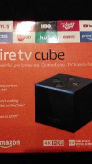 Fire Tv CUBE by Amazon new in sealed box for Sale in Wichita, KS