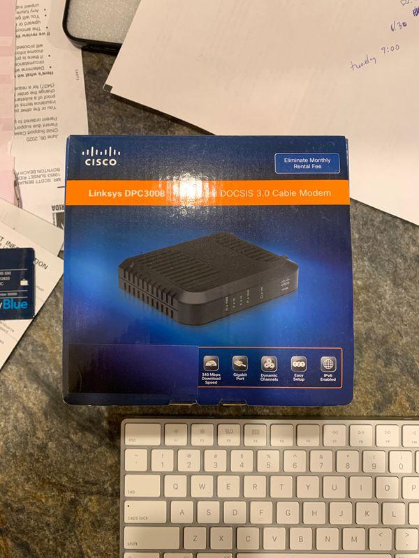 Comcast cable modem