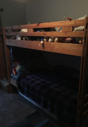 Dual bunk bed with storage steps for Sale in Peoria, AZ