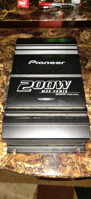Brand New Pioneer Max power mosfet sub amp for Sale in North County, MO