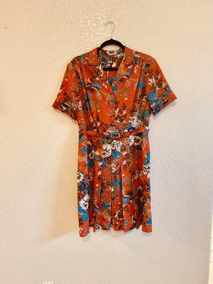 Vintage 70's Pleated Floral Dress for Sale in Las Vegas, NV