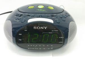 Sony Dream Machine Psyc ICF-CD831 AM/FM CD Stereo Digital Alarm Clock for Sale in Spring Lake, NJ
