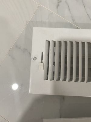 Like new white return air grill for Sale in Wallingford, CT