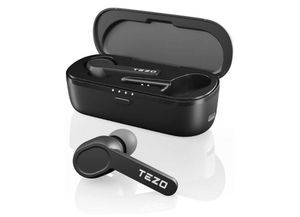 TEZO Wireless Earbuds IPX8 Waterproof Bluetooth Earphones Touch Control TWS Earbuds with Charging Case Built-in Microphone Non-Slip for Sale in Rancho Cucamonga, CA